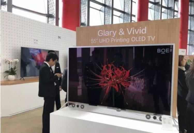 """Китайская компания BOE напечатала 55-дюймовый OLED-экран"""""""