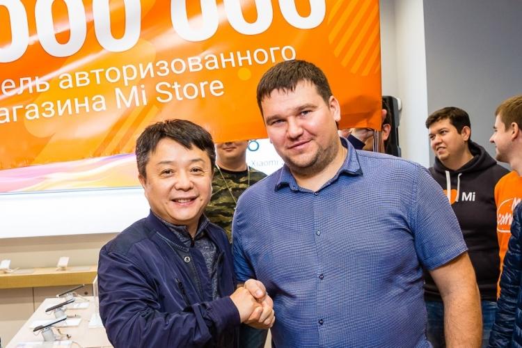 """Сеть розничных магазинов Mi Store приветствовала 10-миллионого посетителя"""""""