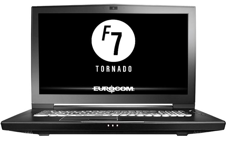 """Мобильная рабочая станция Eurocom Tornado F7W несёт на борту до 128 Гбайт ОЗУ"""""""