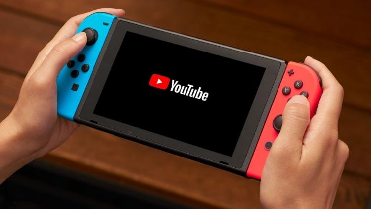 """На Nintendo Switch наконец-то появилось приложение YouTube"""""""