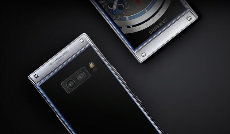 Представлен флагманский смартфон-раскладушка Самсунг W2019, цена новинки поражает больше характеристик