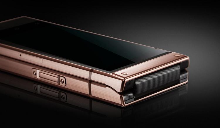 """Samsung W2019: смартфон-раскладушка премиум-класса с двойной камерой"""""""
