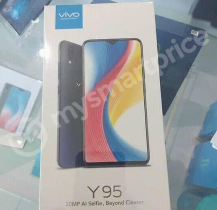 """Смартфон Vivo Y95 показался в бенчмарке и на промо-изображениях"""""""