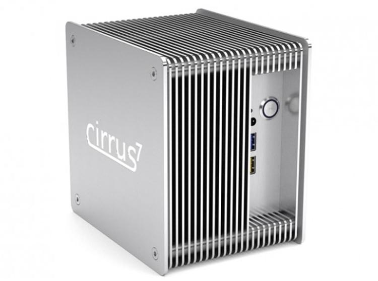 "Cirrus7 Nimbini v2.5 Media Edition: бесшумный мини-компьютер на платформе Intel Coffee Lake"""