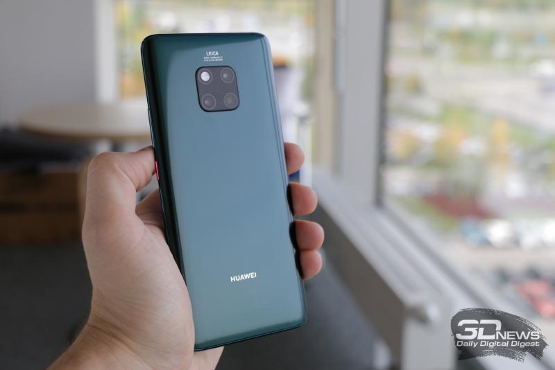 Зеленый вариант Huawei Mate 20 Pro