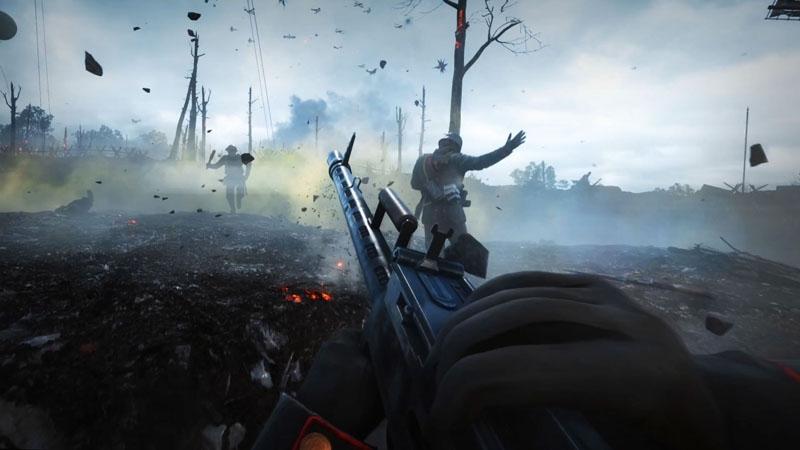 """Стрельба в Battlefield 1 прекратилась в честь празднования юбилея окончания Первой мировой войны"""""""