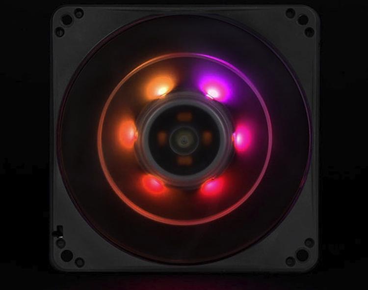 """Вентилятор SilverStone FW124-ARGB совместим с популярными системами подсветки"""""""