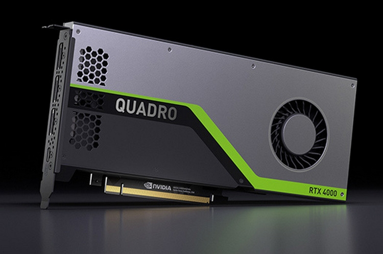 "NVIDIA Quadro RTX 4000: первая видеокарта среднего уровня на базе Turing"""