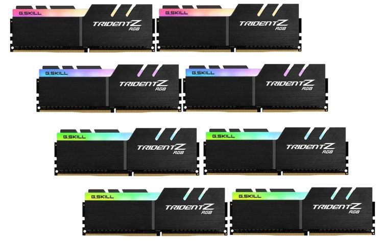 """G.Skill представила высокоскоростные комплекты Trident Z DDR4 большой ёмкости"""""""