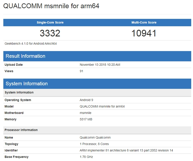 "Meizu проектирует смартфон на флагманском чипе Snapdragon 8150"""