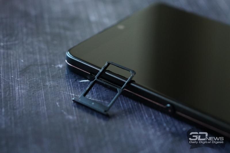 martisan U3 Pro, слот для двух nano-SIM-карт