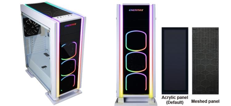 Enermax Saberay White: элегантный ПК-корпус с RGB-подсветкой