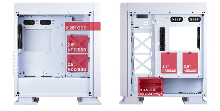 """Enermax Saberay White: элегантный ПК-корпус с RGB-подсветкой"""""""