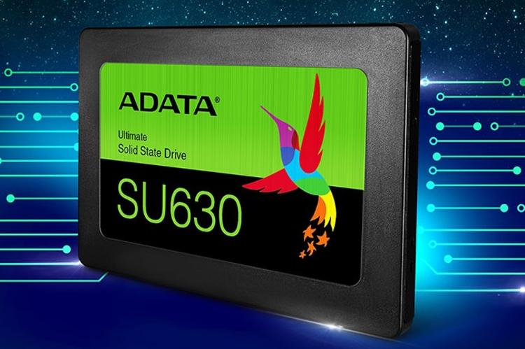 "SSD-накопители ADATA Ultimate SU630 используют память 3D QLC NAND"""