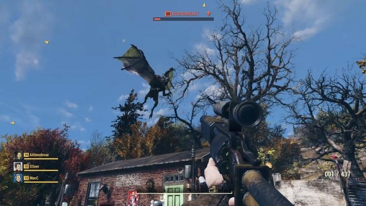 Перенос персонажа из «беты» Fallout 76 в финальную версию сопровождается проблемами