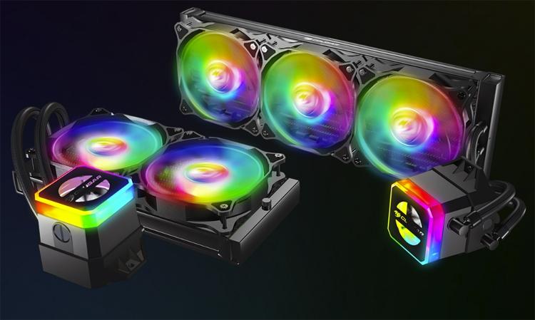 Cougar Helor 240 и Helor 360: процессорные СЖО с эффектной подсветкой