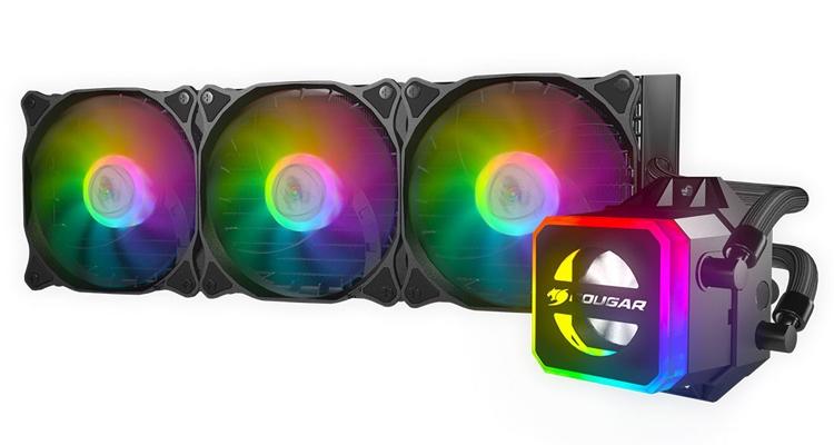 """Cougar Helor 240 и Helor 360: процессорные СЖО с эффектной подсветкой"""""""