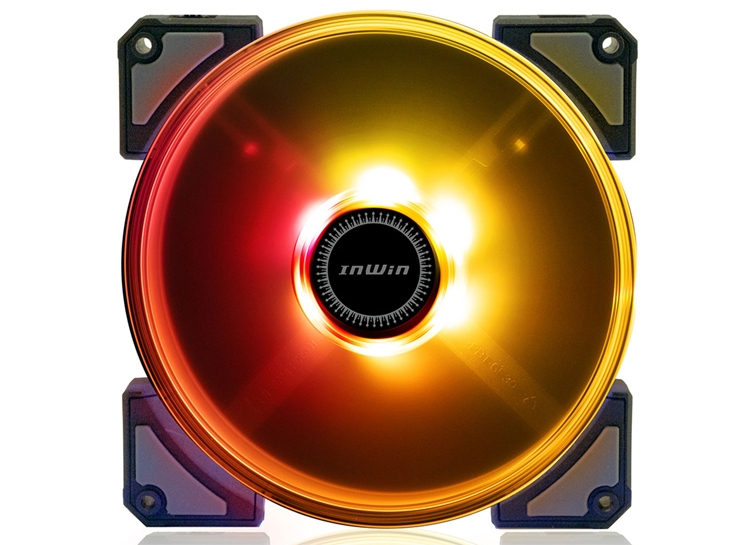 """In Win Crown: вентиляторы охлаждения с многоцветной подсветкой"""""""