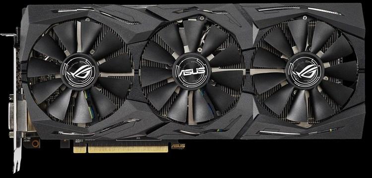 "ASUS представила видеокарту ROG Strix Radeon RX 590"""