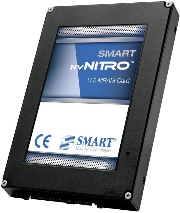 Накопитель SMART Modular nvNITRO ёмкостью 1 Гбайт в форм-факторе U.2