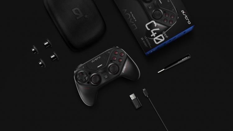 """Видео: контроллер ASTRO C40 TR выйдет для PS4 и ПК в марте 2019 года по цене $200"""""""