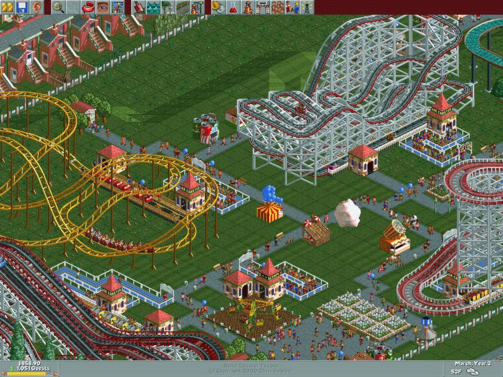 Экономическая стратегия RollerCoaster Tycoon Adventures выйдет на