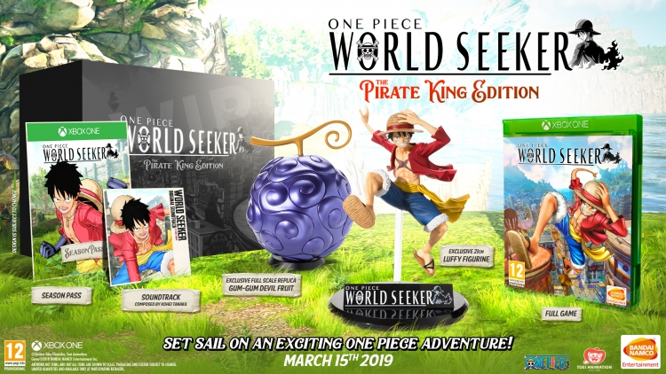 """One Piece: World Seeker — свежий трейлер, дата выхода, коллекционное издание и подробности предзаказа"""""""