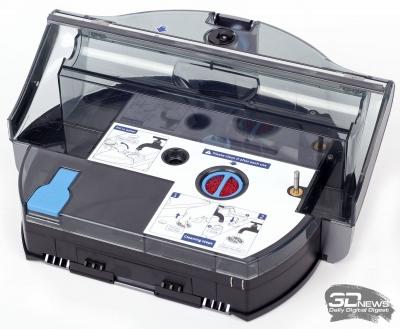 Робот-уборщик ILIFE W400 – два ведра и электрошвабра