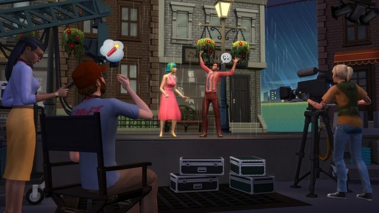 """В дополнении «The Sims 4: Путь к славе» симы могут стать звёздами"""""""