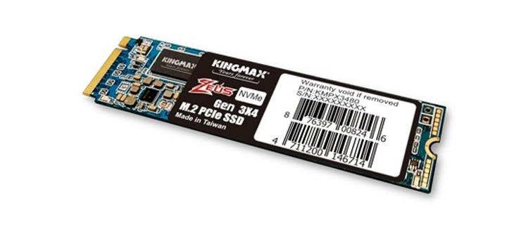 """Kingmax Zeus PX3480: твердотельные накопители M.2-2280 ёмкостью до 1 Тбайт"""""""