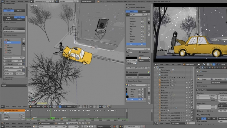 """Бесплатный 3D-редактор Blender появился в Microsoft Store"""""""