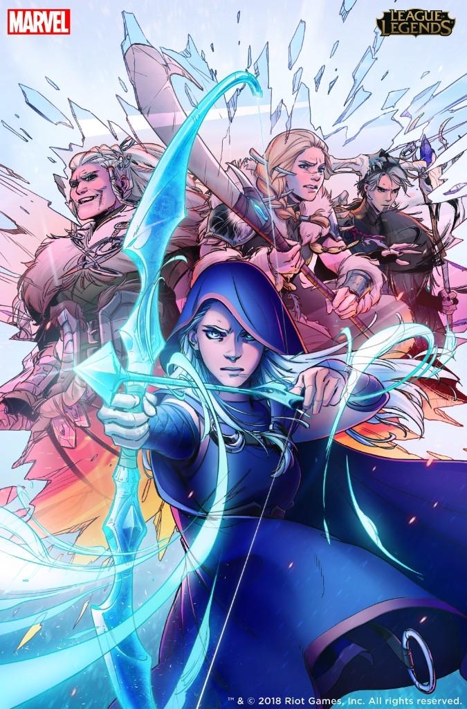 Marvel и Riot Games выпустят графические новеллы по League of Legends