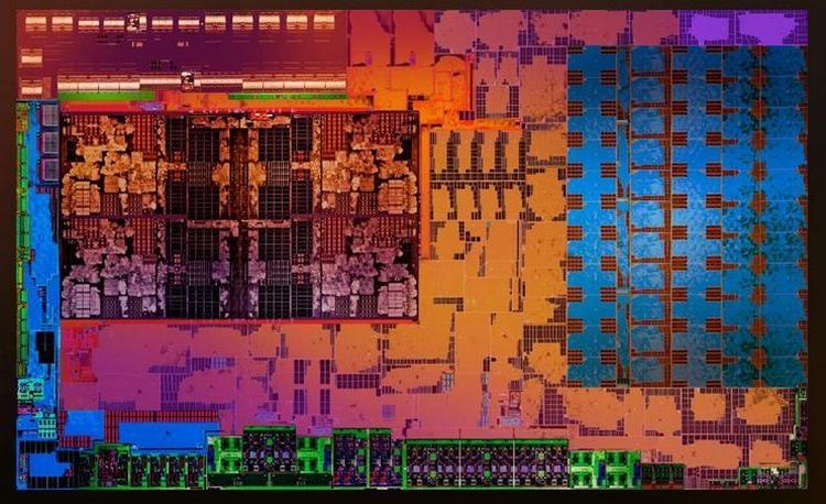 Кристалл гибридного процессора AMD Raven Ridge (Zen+Vega)