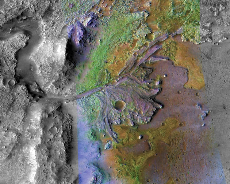 "Назван регион посадки ровера миссии Mars 2020"""