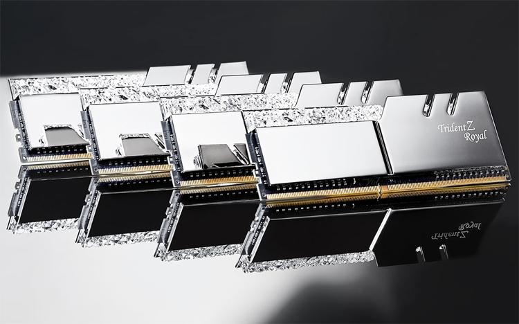 """G.SKILL Trident Z Royal: модули памяти DDR4 с «королевским» дизайном"""""""