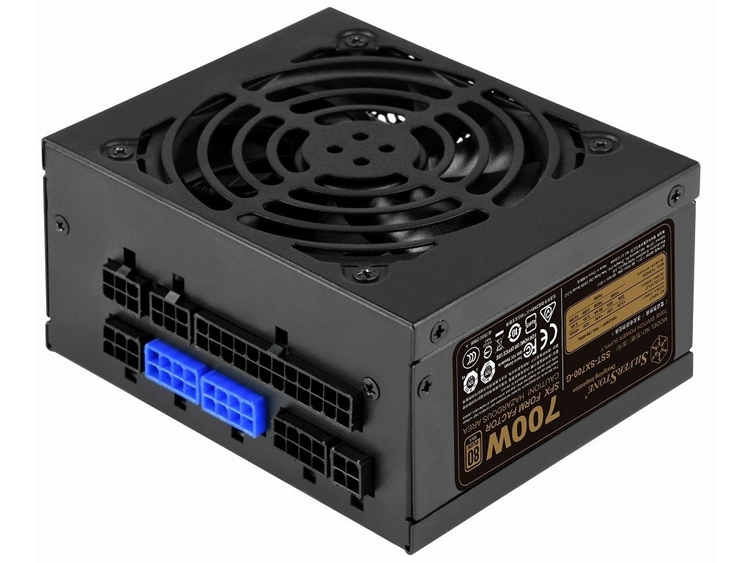 "Блок питания SilverStone SX700-G выполнен в форм-факторе SFX"""