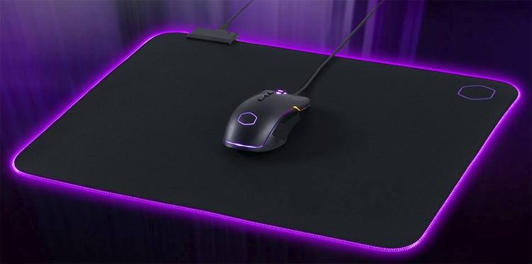 """Коврик для мыши с подсветкой Cooler Master MP750 предстал в трёх вариантах размера"""""""
