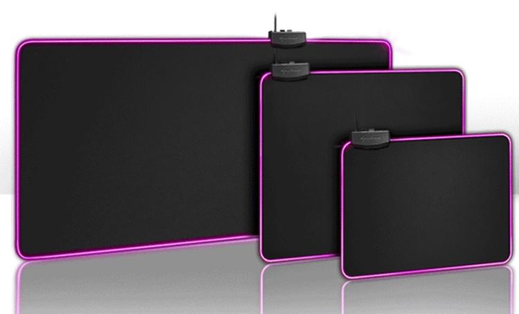"""Sharkoon 1337 RGB: полку ковриков с подсветкой для мыши прибыло"""""""
