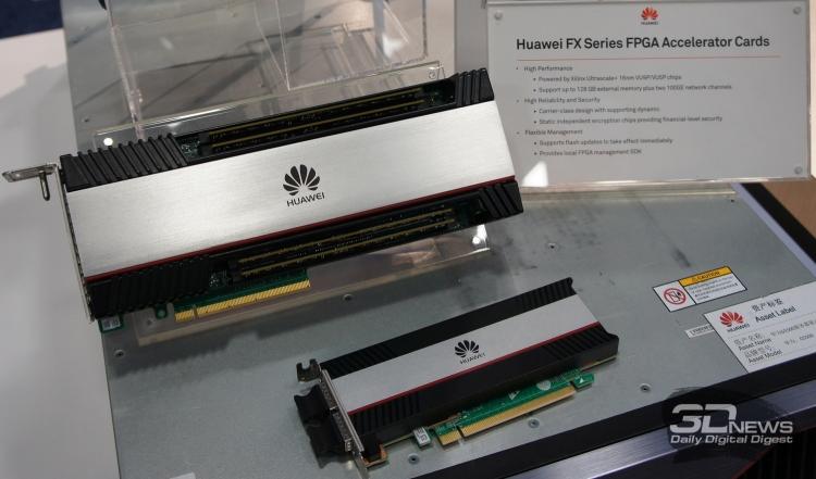 Huawei также создаёт ускорители на FPGA от Xilinx