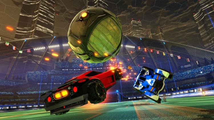 """Апгрейд Rocket League на Xbox One X: 4К, суперсемплинг в FullHD и HDR"""""""