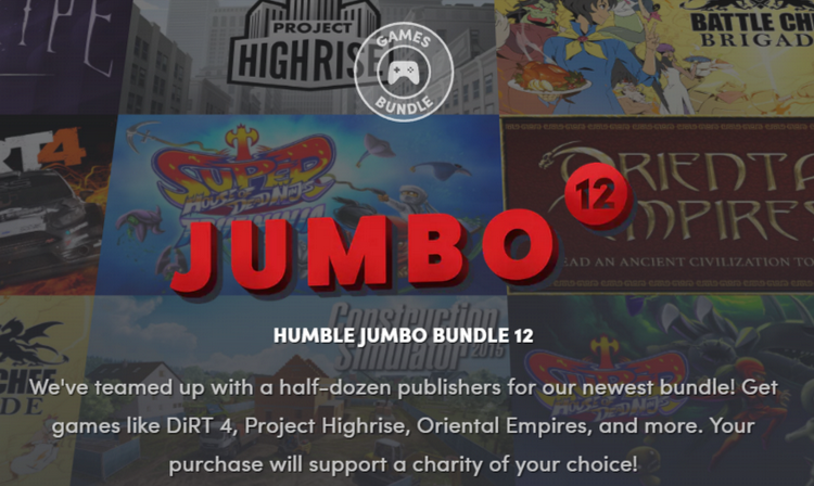 """Humble Bundle: Pinstripe, Battle Chef Brigade, DiRT 4 и многое другое в свежем наборе от $1"""""""
