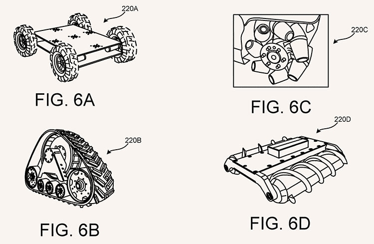 "Google запатентовала VR-обувь на колёсах"""