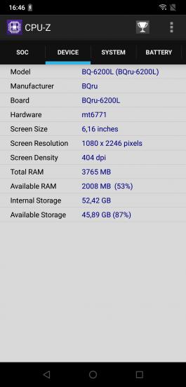 Обзор смартфона BQ Aurora 2: вторая заря