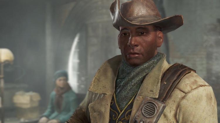 """Престон Гарви в Fallout 76: игрок развлекается косплеем известного NPC из Fallout 4"""""""