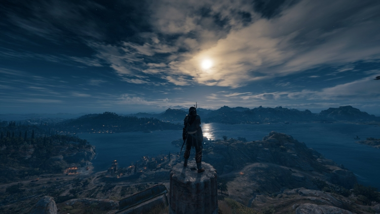 Видео: снимки Древней Греции от сообщества Assassin's Creed Odyssey""