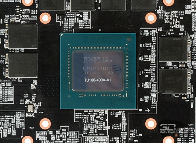 Скорее всего основой GeForce RTX 2060 станет GPU Turing TU106