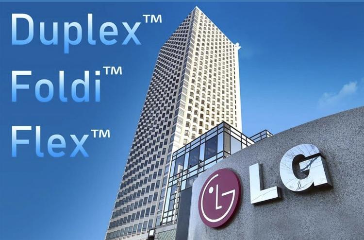 """Гибкий смартфон LG может получить имя Flex, Foldi или Duplex"""""""