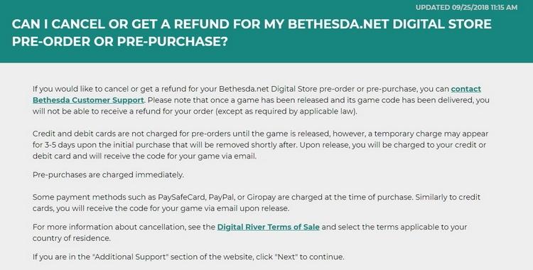 """Bethesda сдаётся? Компания вернула деньги за Fallout 76 игроку, который провёл в ней 24 часа"""""""