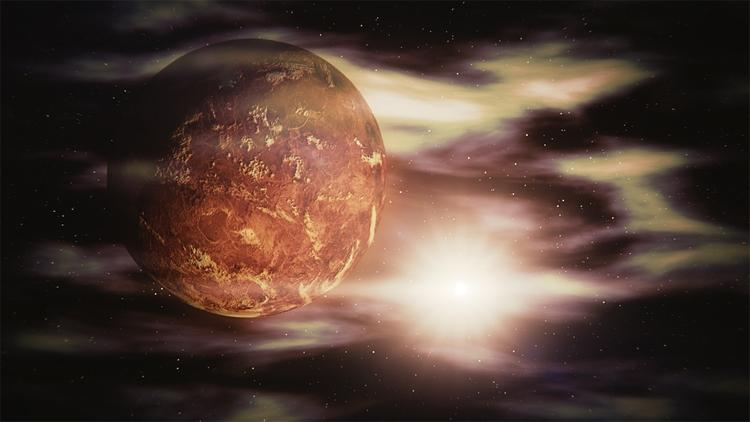 """Над полярными областями Венеры существует озоновый слой"""""""