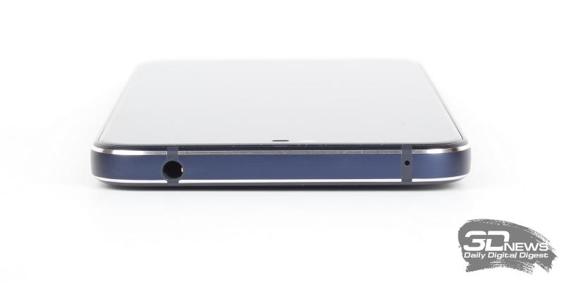 Nokia 7.1, правая грань: клавиши включения и регулировки громкости/спуска затвора камеры